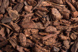 Landscape Ground Covers: Small Douglas fir nugget bark